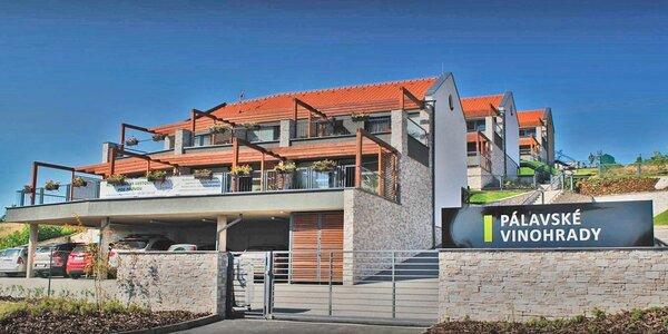 Luxusní apartmány na Pálavě pro páry i rodiny