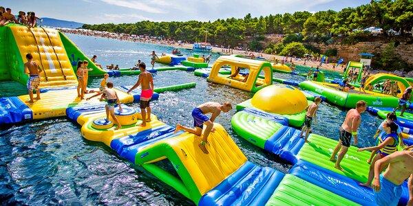 Vstupenka na vodní skákadla pro děti i dospělé