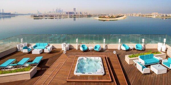 4* holistický resort přímo u pláže v Dubaji