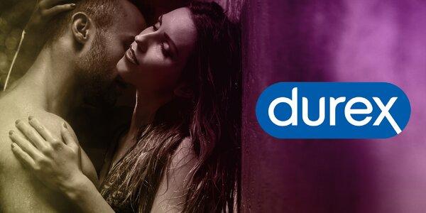Výhodné balíčky kondomů Durex: 32 až 60 ks