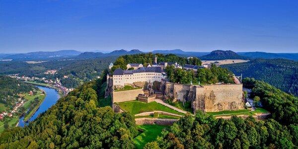 Výlet do Německa: Pirna, Königstein i Pillnitz