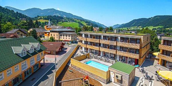 Léto v rakouských Alpách hned u lanovky, wellness