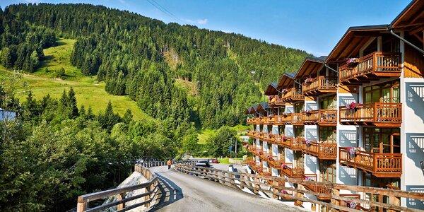 Apartmán v Alpách se stravou a neomezeným wellness
