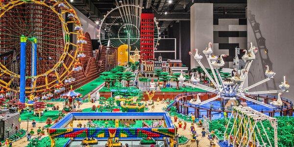 Výstava v Hamleys: české památky z kostek LEGO®