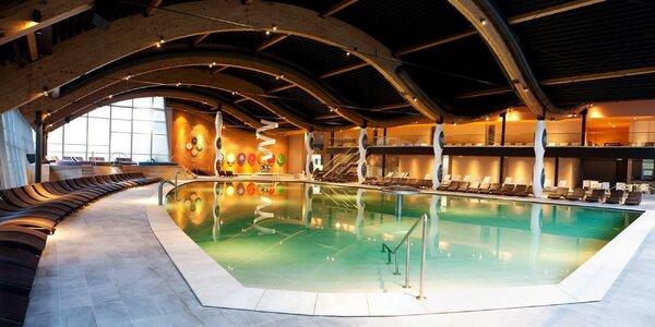 Apartmány s aquaparkem a termálními bazény