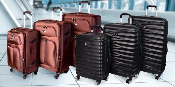 Cestovní kufry: samostatně i v sadě 3 kusů