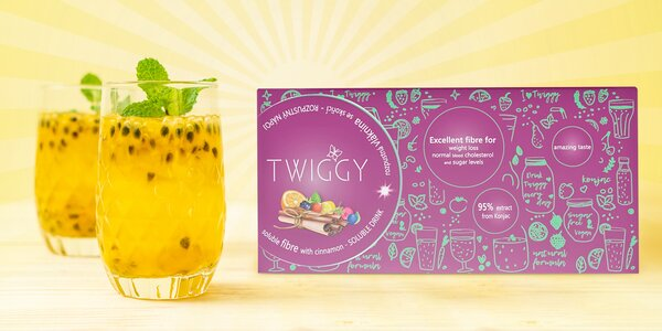 Zdravé hubnutí: nápoj Twiggy s vlákninou