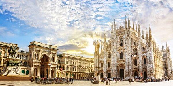 Italské Miláno: umělecké skvosty, módní inspirace