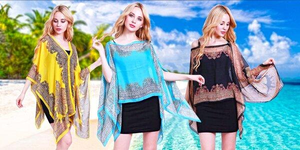 Ideální na léto: tunika a šátek v jednom