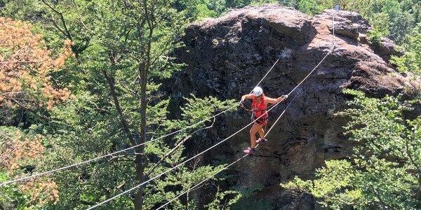 Polodenní privátní kurz lezení na ferraty