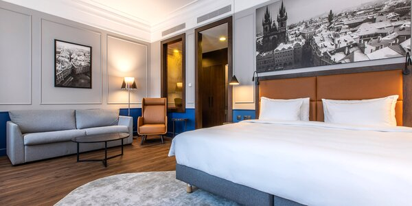 5* hotel v centru Prahy: snídaně, kredit na služby
