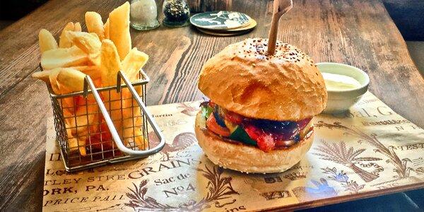 Burger dle výběru pro 1 nebo pro 2 osoby