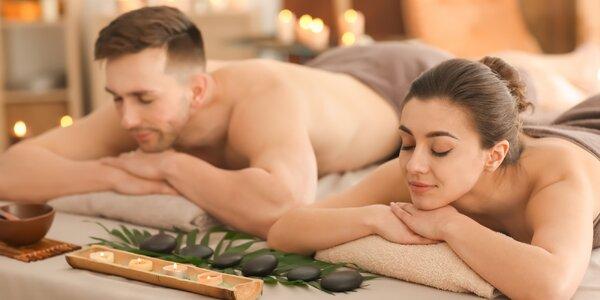60–90 min. thajská aroma masáž pro dva v centru Prahy