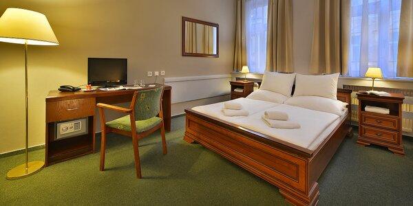 Pobyt se snídaní v Praze: Krásný hotel blízko centra