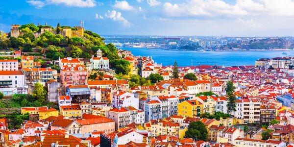 Portugalsko letecky: velký okruh, 7 nocí s polopenzí