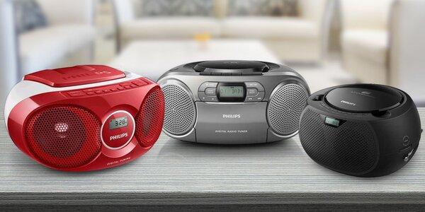 Malé a hravé: kazeťák i CD přehrávač od Philipsu