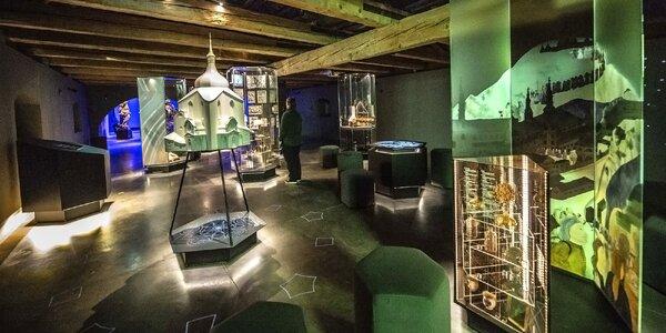 Vstup do multimediálního Muzea nové generace