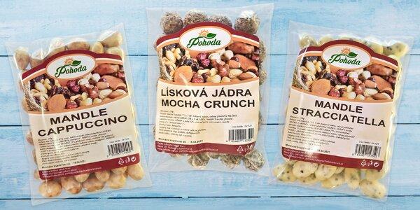 Pochutnejte si: ovoce a ořechy v jogurtu i čokoládě