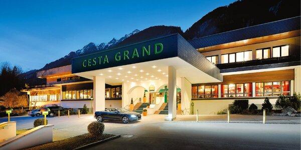 4* hotel Cesta Grand Aktiv, se snídaní či polopenzí