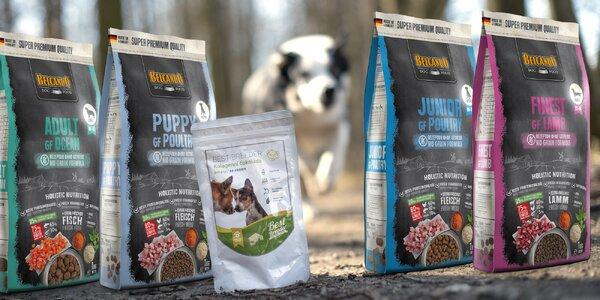 Kvalitní krmiva a doplňky stravy pro psy