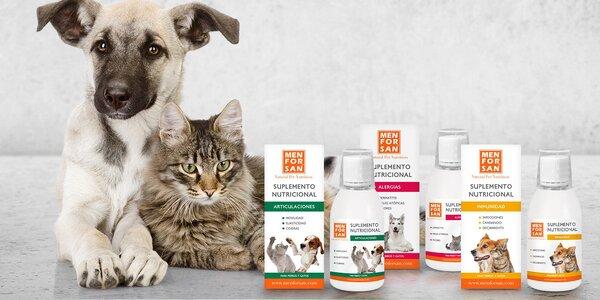 Tekuté doplňky stravy pro psy a kočky: 5 druhů