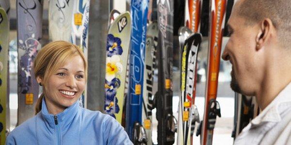 Profesionální servis lyží na strojích Wintersteiger