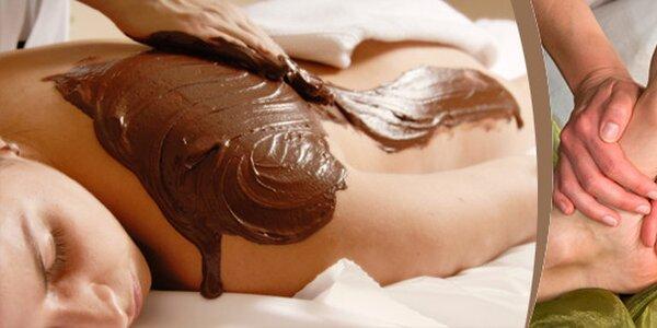Čokoládová masáž – královna mezi masážemi v délce 90 minut