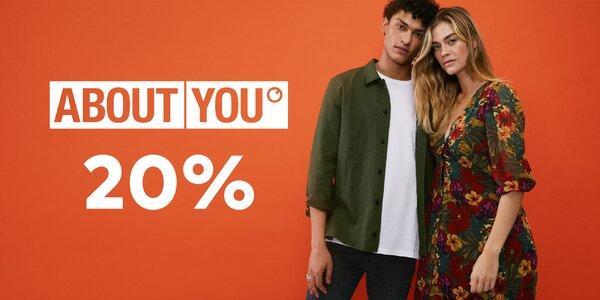 20% sleva do módního e-shopu About You + doprava