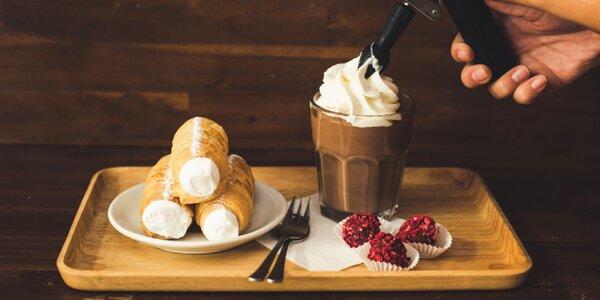 20 % sleva do Chocafé: čokoláda, zmrzlina i káva