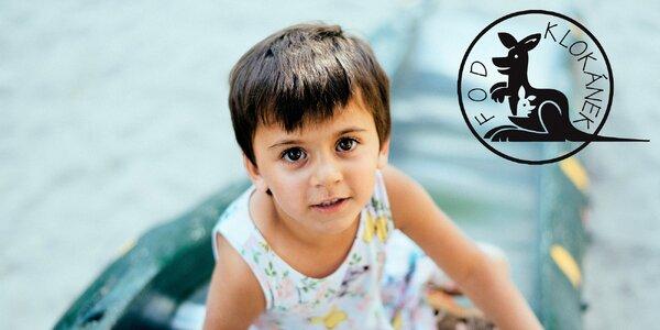 Přispějte na hezčí léto pro děti z Klokánků