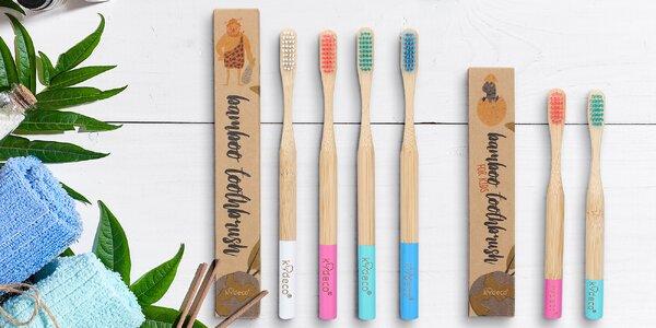 Bambusové zubní kartáčky pro děti i dospělé