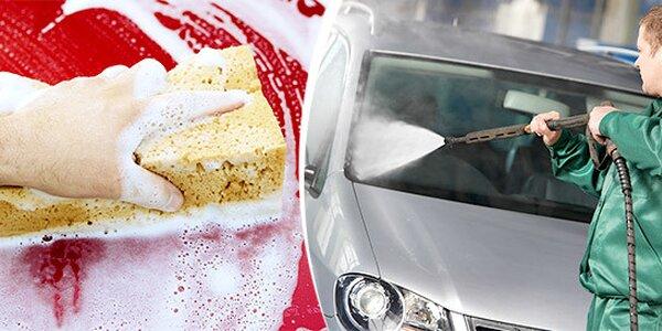 Profesionální ruční mytí vašeho vozu