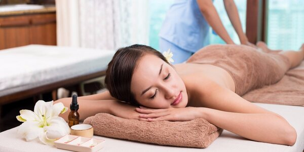 Bylinný zábal s lymfatickou masáží dolních končetin