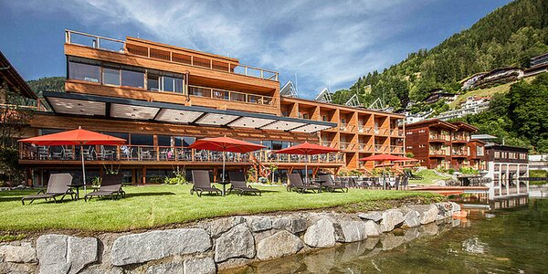 4* hotel v Zell am See přímo u jezera a s wellness