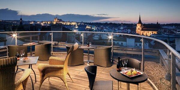 4* hotel v Praze: snídaně i kredit k Pohlreichovi