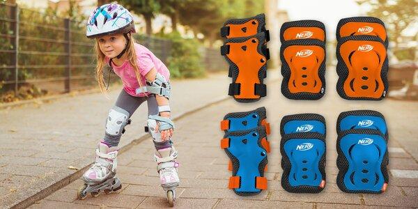 Sada dětských chráničů: na lokty, kolena a zápěstí