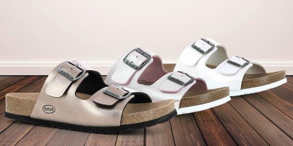Dámské pantofle Scholl s anatomickým tvarem