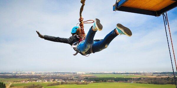 Zábava pro odvážné: extrémní bungee jumping
