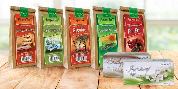 Sypané, lisované i porcované čaje