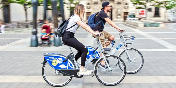 Nextbike: kredit 100, 300 i 500 Kč na půjčení kol