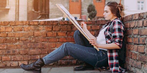 Venkovní kurz skicování a kreslení architektury