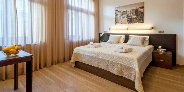 Pohoda na Vinohradech: moderní apartmán s kuchyňkou