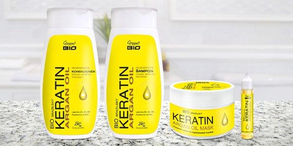 Česká vlasová bio kosmetika s arganovým olejem