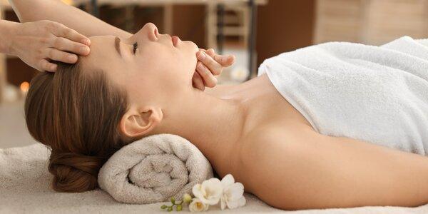80 min. relaxace: výběr z 6 druhů masáží