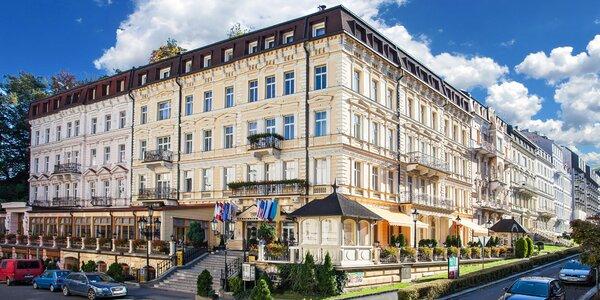 Karlovy Vary s polopenzí a lázeňskými procedurami