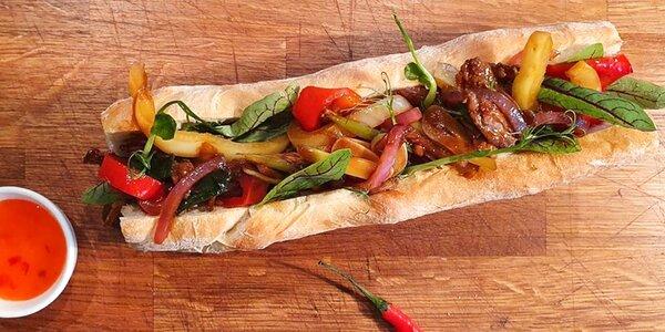 Kurz vaření: steak, mexický wrap a sendvič bánh mì