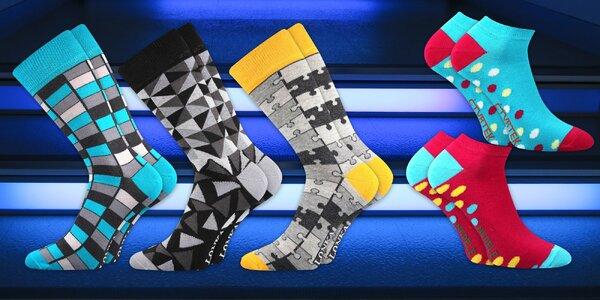Designové ponožky pro pány i dámy: 17 variant