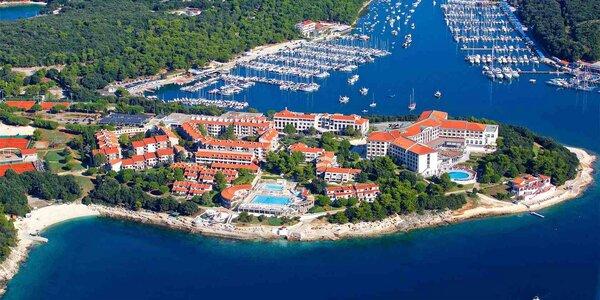 4* resort na Istrii, perfektní pro rodiny s dětmi