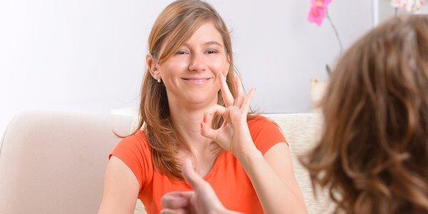 Úvodní kurz znakového jazyka: 2x 90 minut