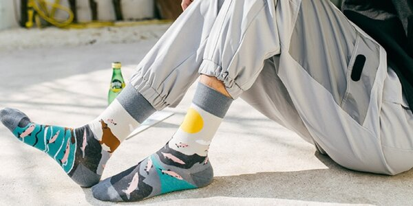 Každá je jiná: Veselé ponožky pro dámy i pány